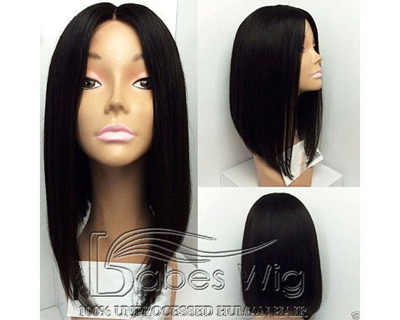 9ff20fabf Black Bob 100% Human Hair Lace Front Wigs and Full Lace Wigs for Black Women