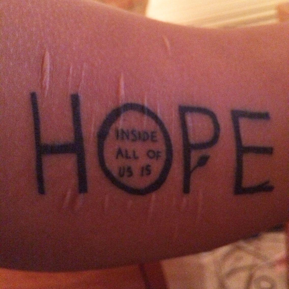 My second tattoo!