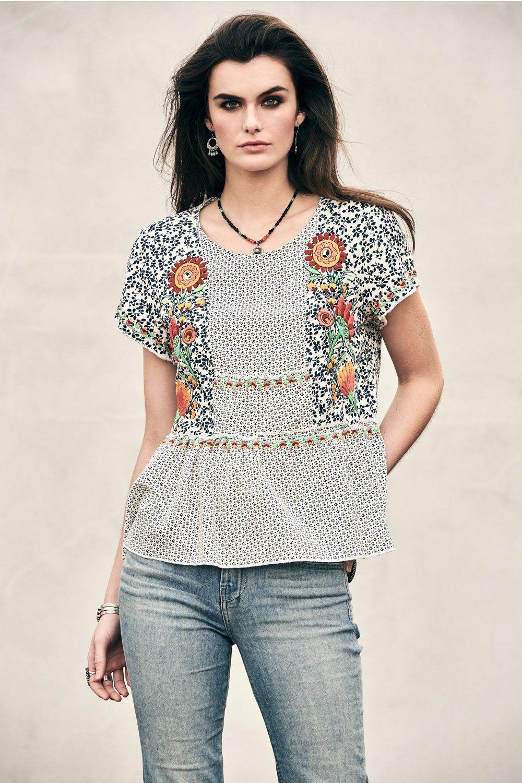 f8c00c568f2de Dulcinea Top in 2019 | Cowgirl Bandit | Tops, Cowgirl style, Fashion