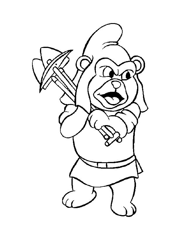 gummy bears 7 | coloring pages | Pinterest