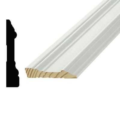 Alexandria Moulding Wp07715 11 16 In X 3 1 2 In Primed Pine Finger Jointed Casing 7715a 90192c The Home Depot Alexandria The Home Depot 2 In