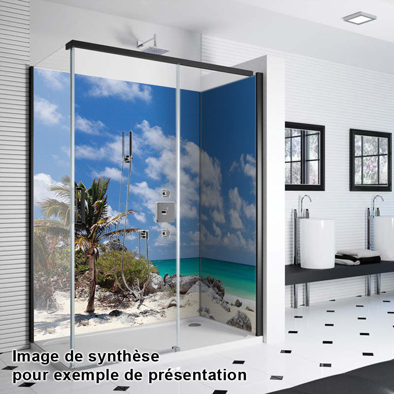 37+ Panneau de verre salle de bain ideas