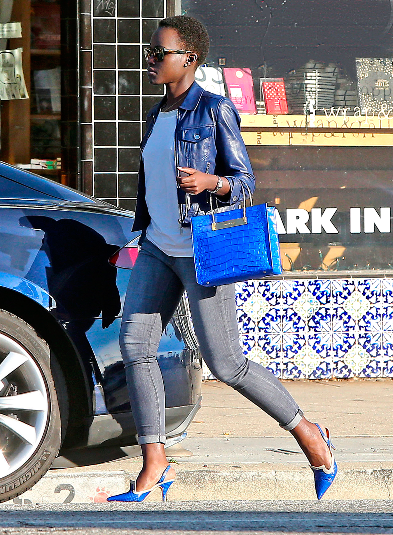 Lupita Nyong'o's accessories game on point