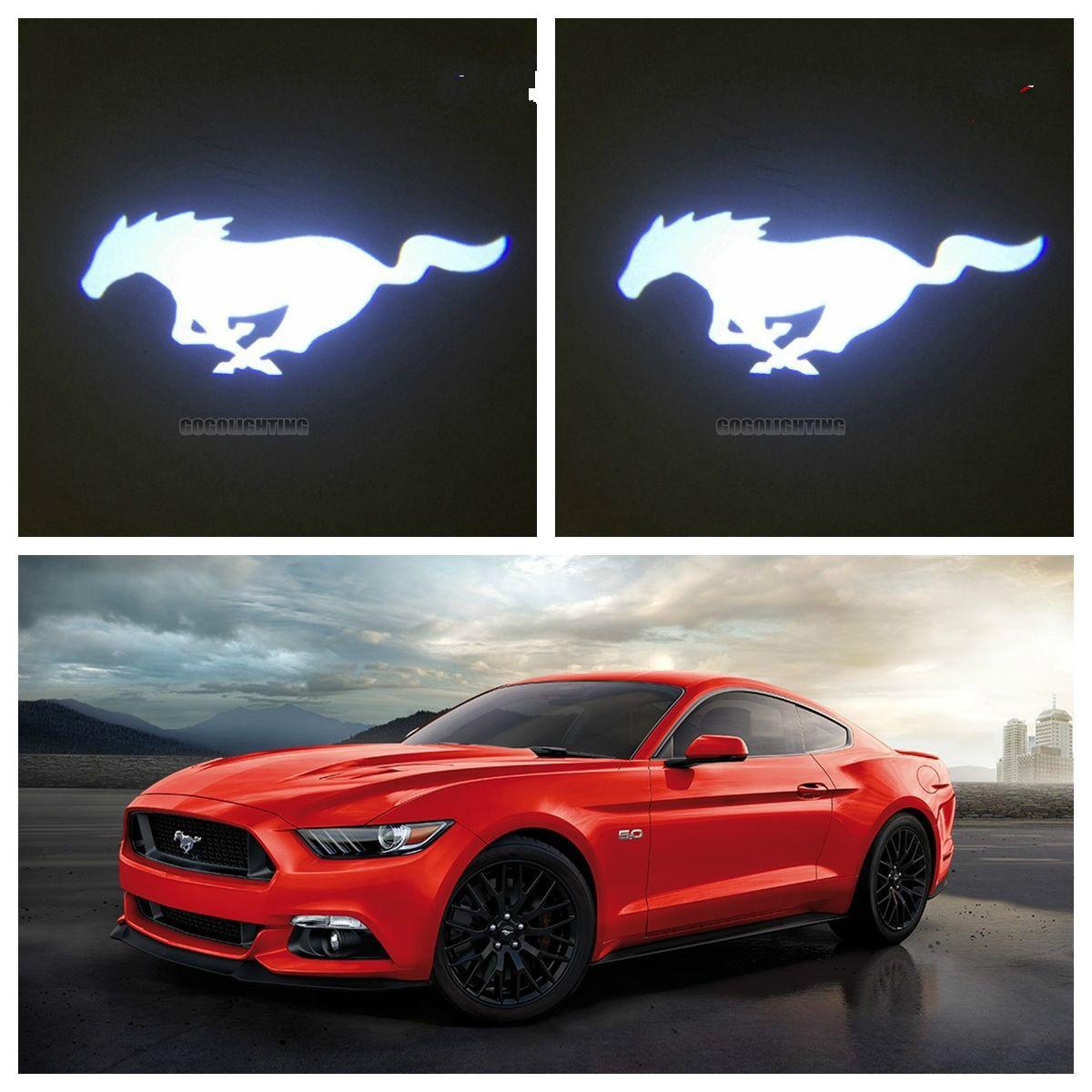 2pcs New Custom Made 3d Ghost Shadow Car Door Logo Led Laser