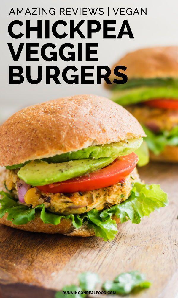 Chickpea Veggie Burgers