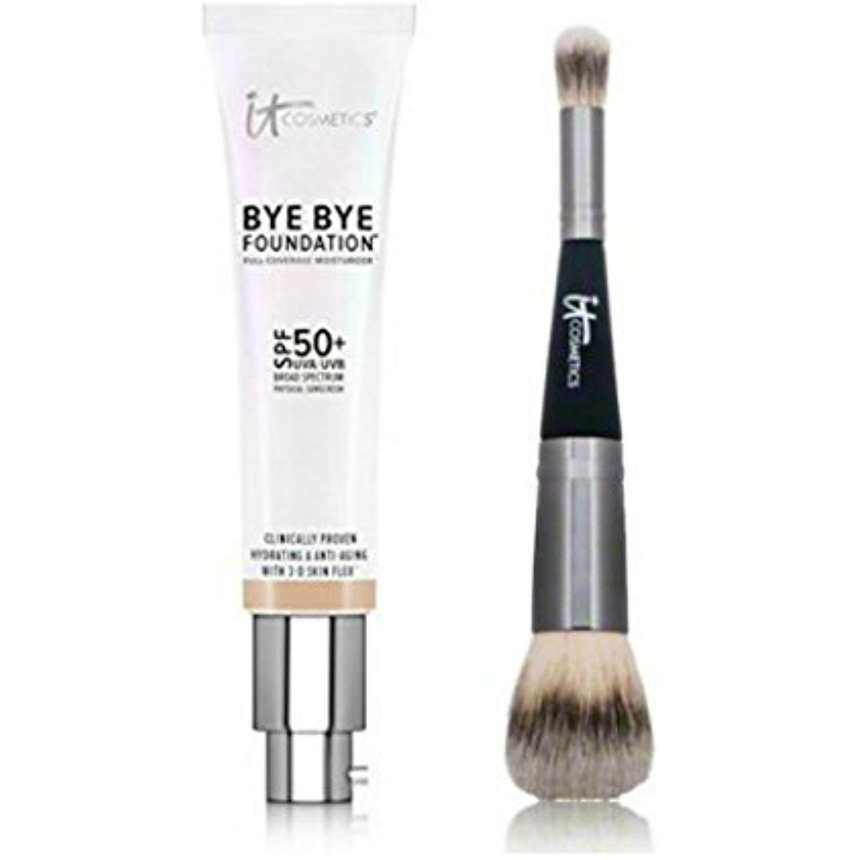 It Cosmetics Duo Bye Bye Foundation Tan Plus Heavenly