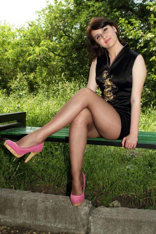 Buenas piernas en pantimedias