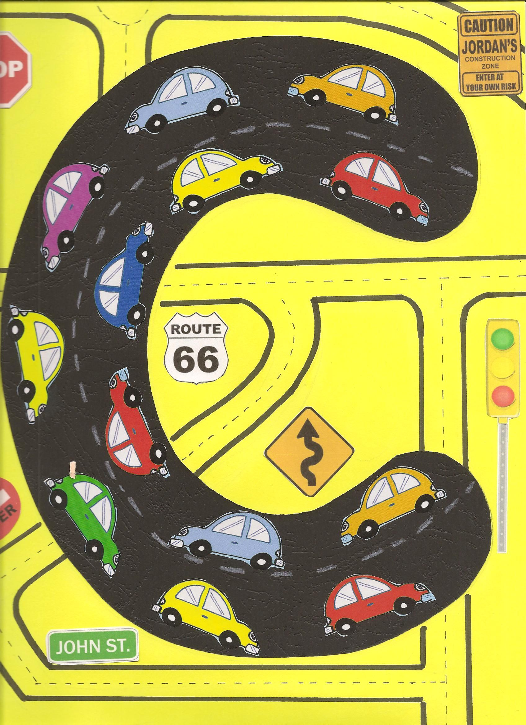 Car Craft For Kids Part - 44: The Kids Learn Letter C With This Fun Craft. Use Cut Out Cars And Traffic