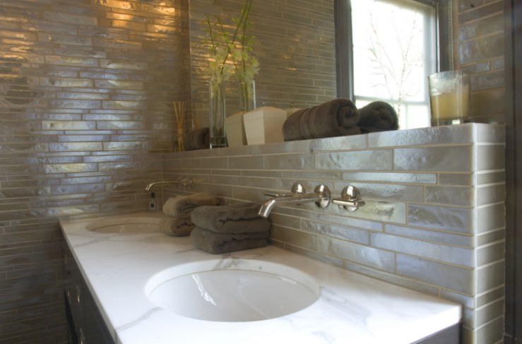78 Best images about Bathroom and Kitchen Tile on Pinterest   Contemporary bathrooms  Glasses and Glass backsplash. 78 Best images about Bathroom and Kitchen Tile on Pinterest