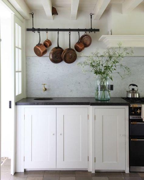 Cocinas Rusticas Blancas 4 Casas Y In 2019 Pinterest