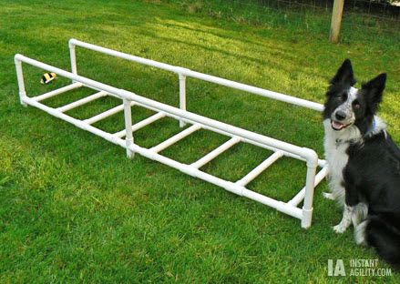 Pvc Footwork Agility Ladder Petdiys Com Dog Agility Diy Dog