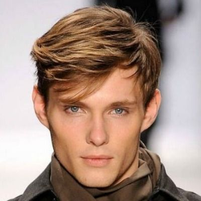 Sweeping Short Fringe Men. Hairstyles ...