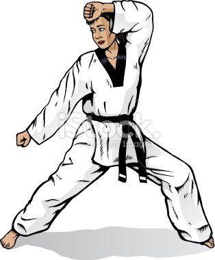 Drawing Of A Martial Artist Martial Arts Girl Martial Arts Martial