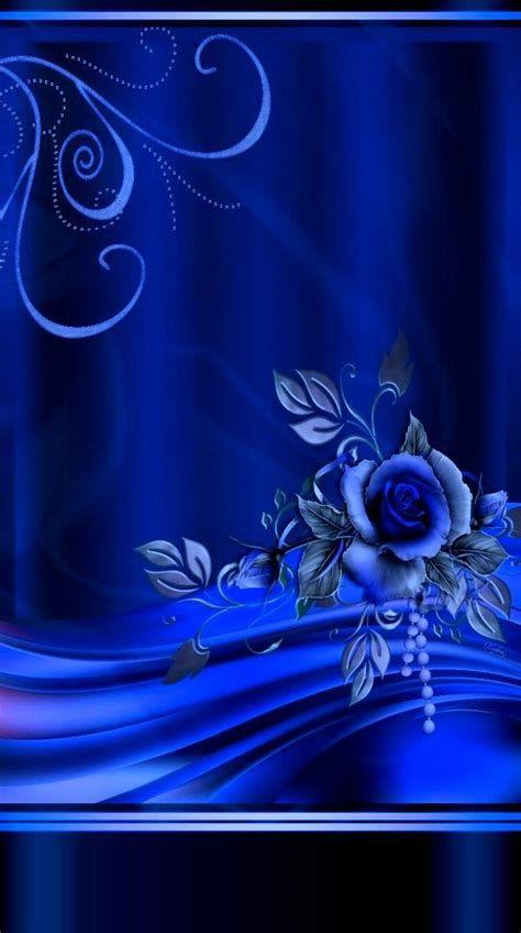 Fotos De Maria Ángelina Em BLUE | Papel De Parede Flor Azul