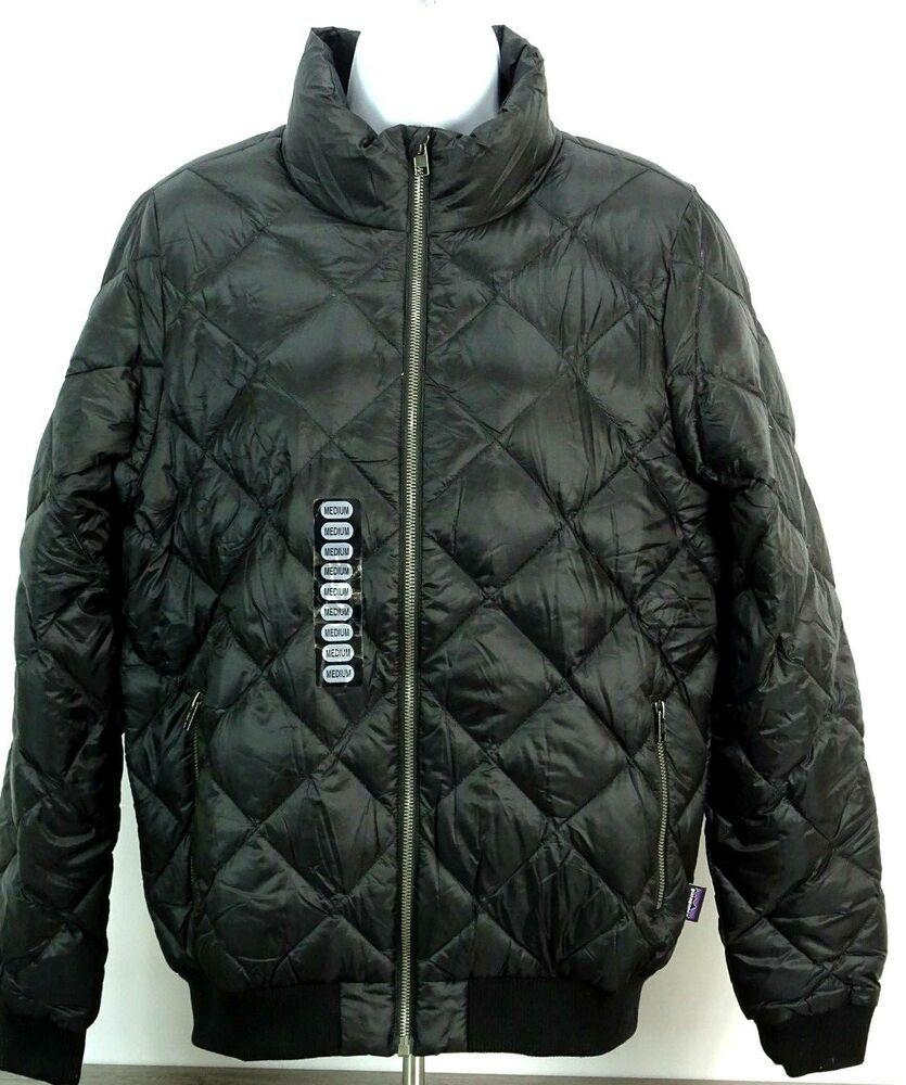 New Patagonia Women S Prow Bomber Down Jacket Black Size Medium Fashion Clothing Shoes Accessories Womensclothing C Jackets Patagonia Womens Vest Jacket [ 1000 x 835 Pixel ]