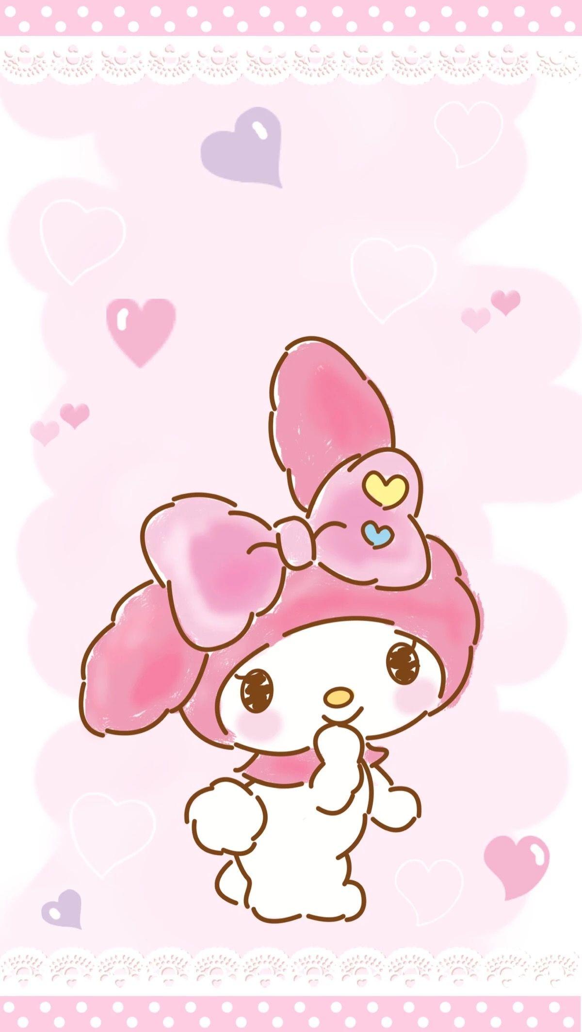My Melody | My melody wallpaper, Melody hello kitty, Hello ...