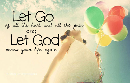 Image result for let it go and let God
