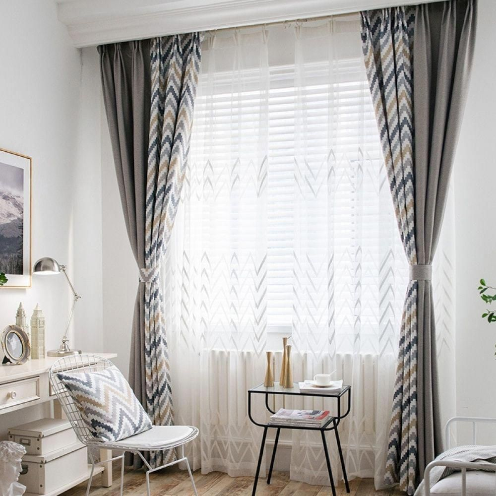 Best 3D Scenery Blackout Curtains Online Living room