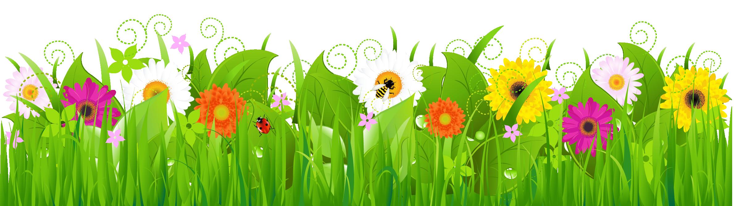 clip art grass clipart cliparts for you clipartix 2 [ 2378 x 669 Pixel ]
