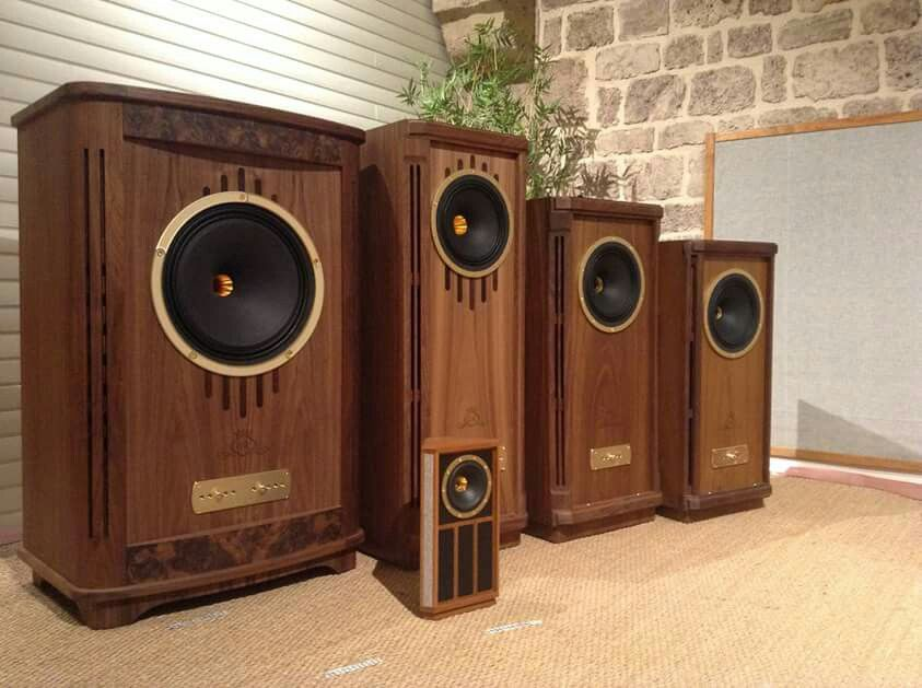 High End Audio Audiophile Tannoy Speakers Entertainment
