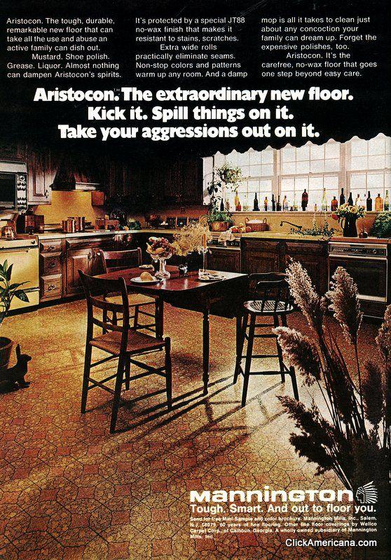 Vintage Mannington Flooring Ad Vinyl Flooring Mannington Vinyl Flooring Vinyl Flooring Kitchen