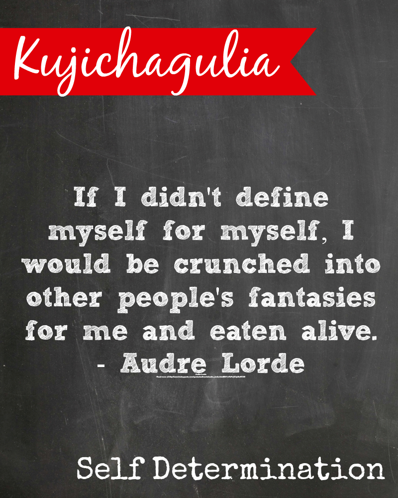 Kwanzaa 12 27 Kujichagulia Means Self Determination Kwanzaa