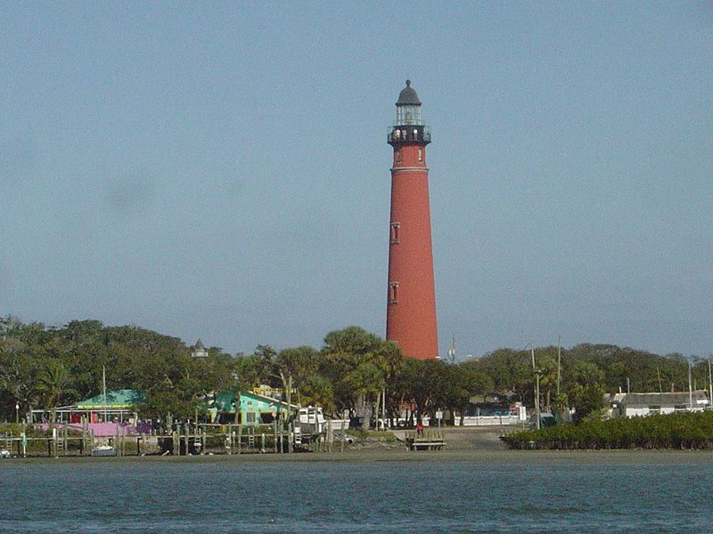 The Lighthouse At Ponce De Leon Inlet In New Smyrna Beach Florida