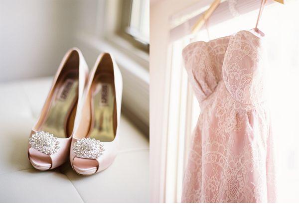 Washington D C Courthouse Wedding Pink Wedding Shoes Blush Pink
