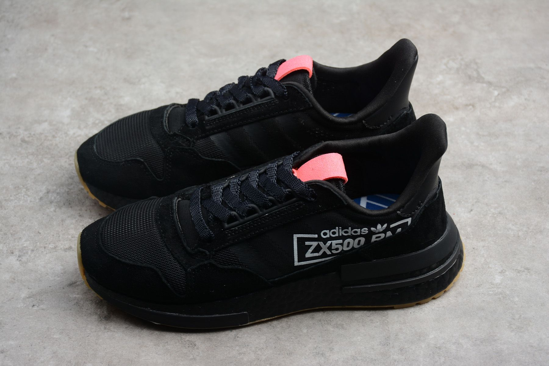 "4161d90bb7c3 Buy adidas ZX500 RM Boost ""Triple Black"" BB7443"