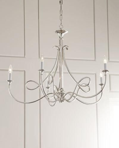 Visual comfort double twist 5 light chandelier visual comfort visual comfort double twist 5 light chandelier aloadofball Choice Image