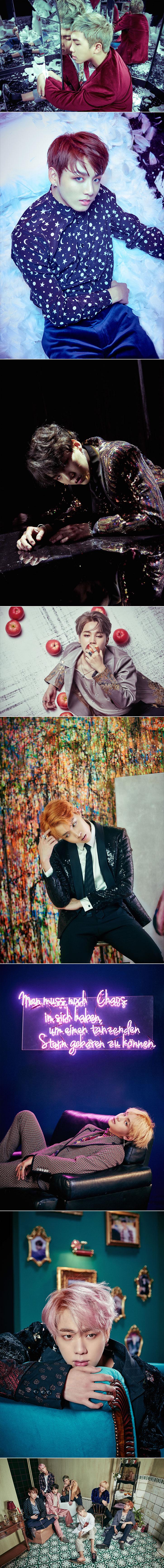 Rap Monster e Jungkook para Full Álbum 'WINGS' - BTS ❤