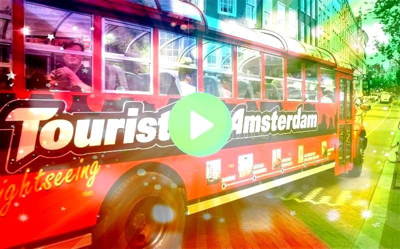 Amsterdam Amsterdam Holland  July 30 2010 Tourist Bus with tour Tourist Bus Amsterdam Amsterdam Holland  July 30 2010 Tourist Bus with tour  Visiting Dallas and looking f...