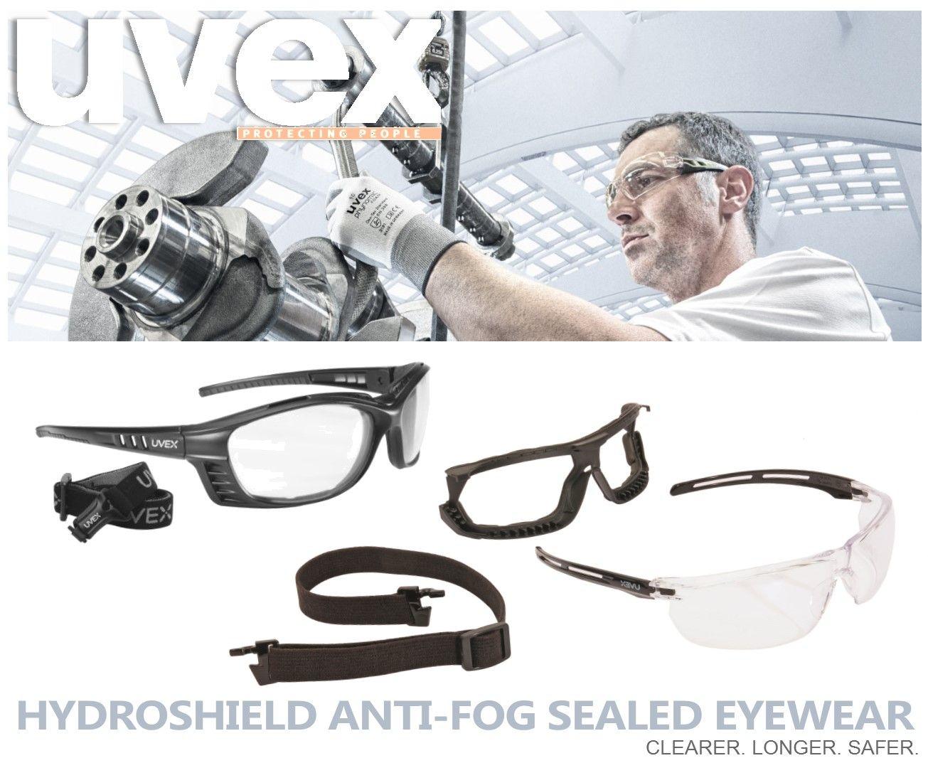 Uvex Livewire™ Sealed Eyewear Uvex Tirade™ Sealed Eye