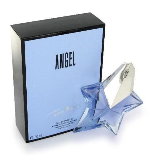 Angel Perfume by Thierry Mugler:  Fragrance notes: bergamot, tropical fruits, vanilla, caramel and patchouli.