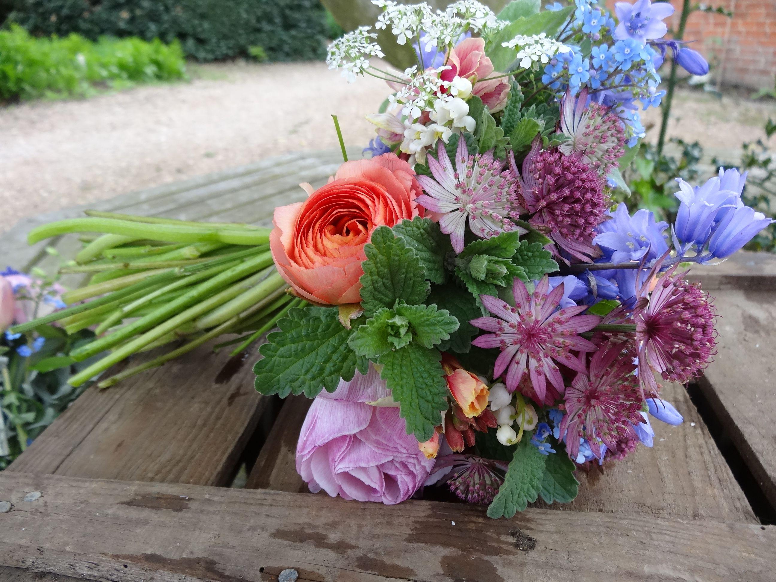 Spring Wedding Flowers - English