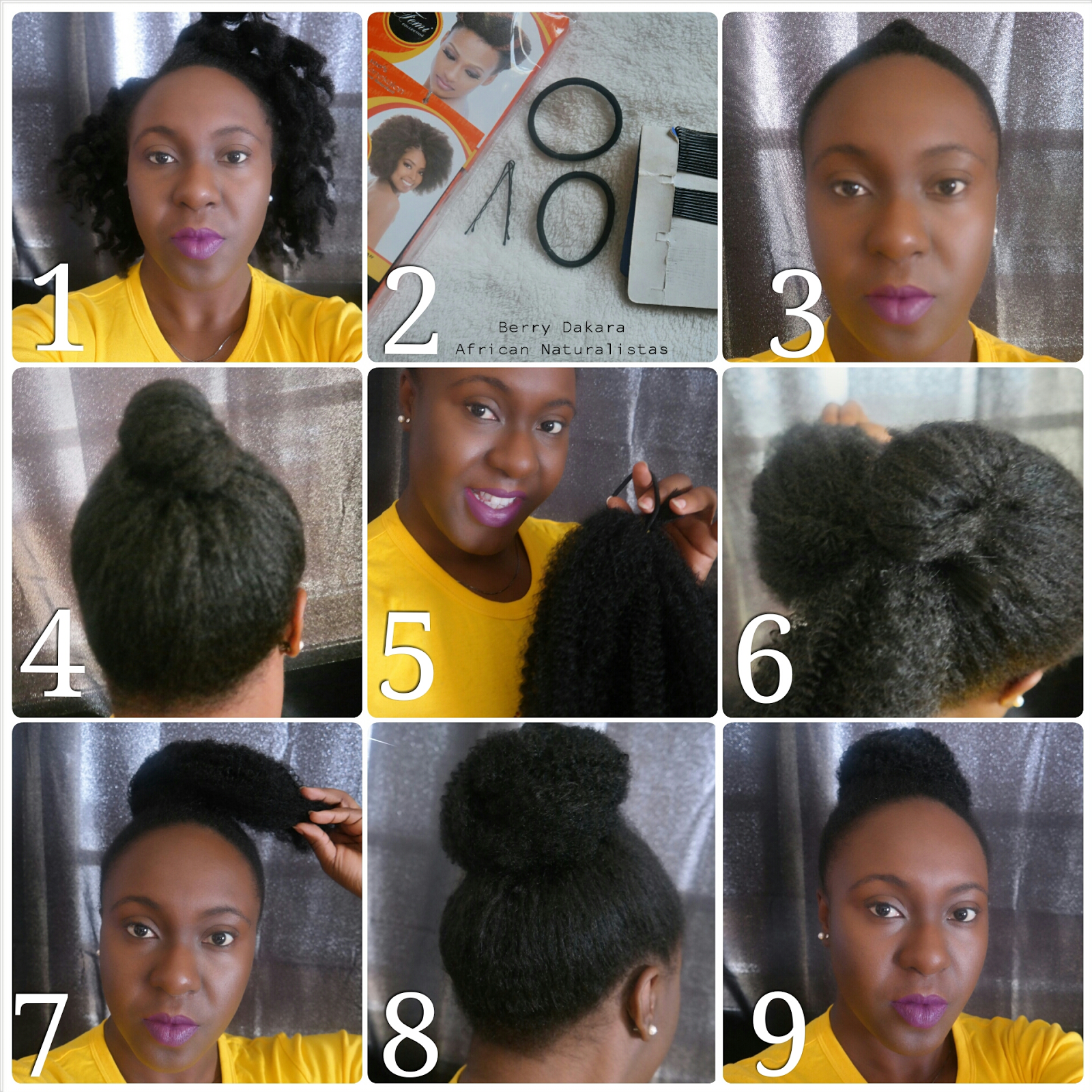 African naturalistas how to style your natural hair mohawk - Natural Hair Styles Natural Hair Marley Hair Natural Hair Bun Faux Bun