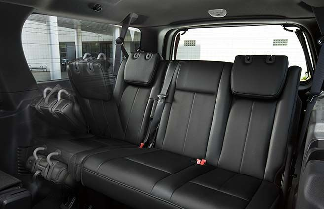 Available Powerfold Third Row Seat Ford Expedition Expedition Ford Interior
