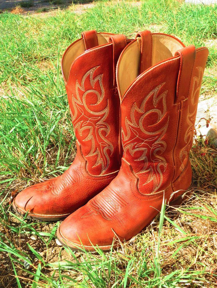 Durango, Cowboy Boots, Sable Brown Men's Size 8.5 EE (wide)