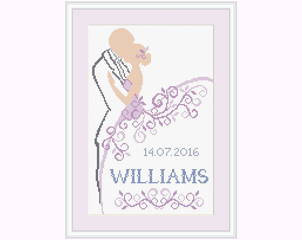 Wedding Cross Stitch Patterns Download Awesome Decoration