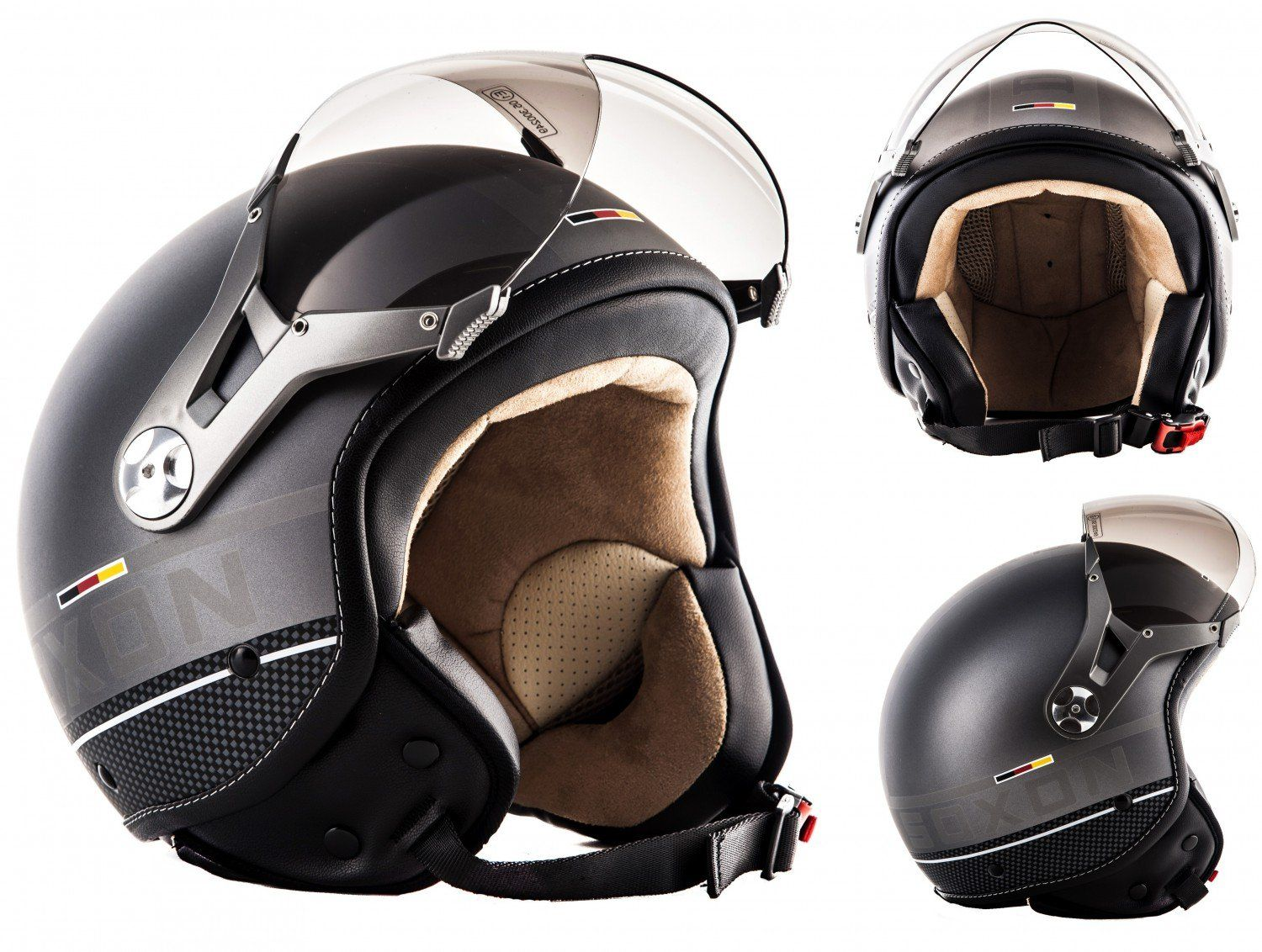 soxon sp 325 plus t a jaune casque jet moto cruiser pilot taille l the helmet. Black Bedroom Furniture Sets. Home Design Ideas