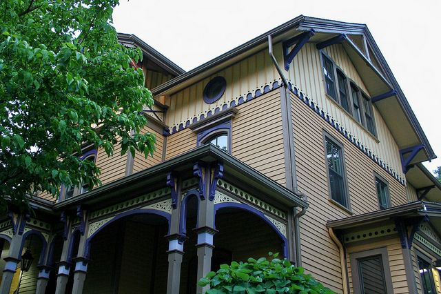 Painted Ladies Of Montclair Mark Tirondola Painted This Victorian Homes House Styles Woman Painting