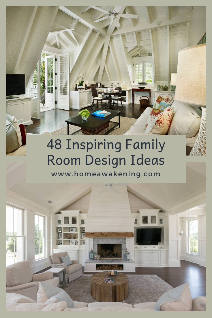 inspiring family room ideas home decoration pinterest room