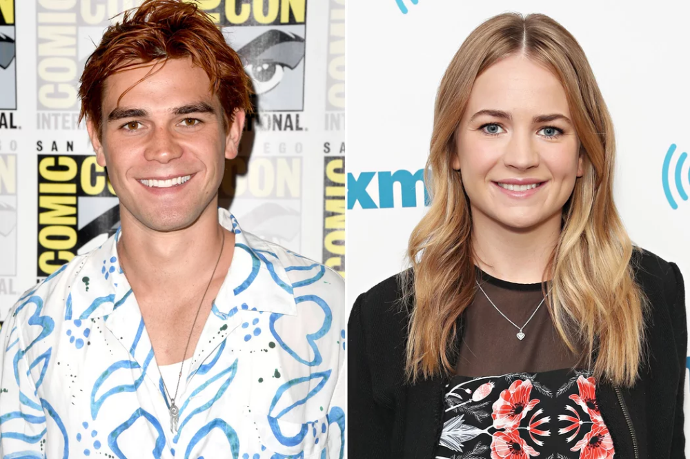 Riverdale S Kj Apa And Britt Robertson Seen Kissing And Holding Hands At Comic Con Party Britt Robertson Kj Apa Girlfriend Dylan O Brien Girlfriend