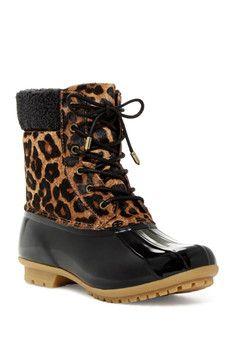 Womens Boots Sam Edelman Caldwell Leopard