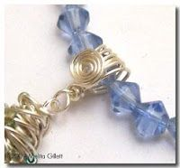 How to Wire Wrap Bails Tutorials - The Beading Gem's Journal love it! must try! #ecrafty