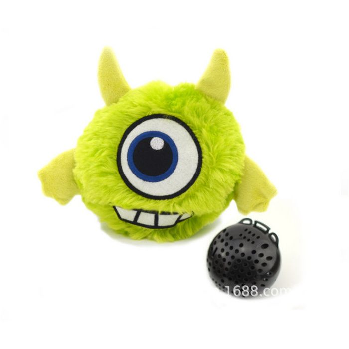 Electric Plush Pet Toys Vibrate Sound Monster Plush Dog Toys
