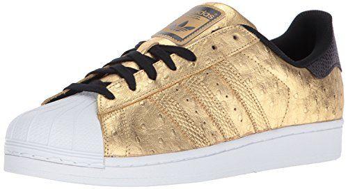 más fotos minorista en línea Mitad de precio adidas Originals Mens Superstar GoldmtGoldmtFtwwht 14 Medium ...