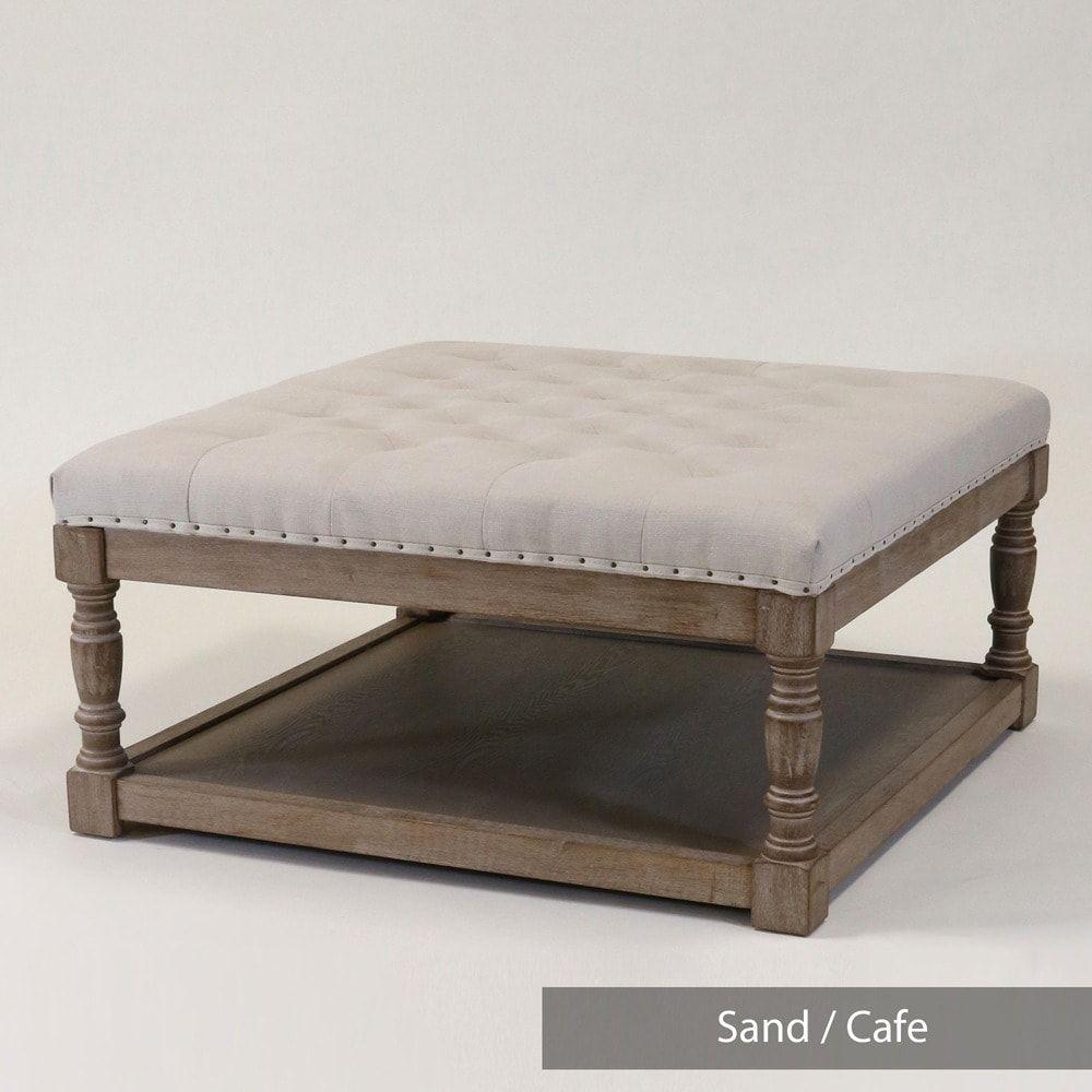 Wondrous Warehouse Of Tiffany Cairona Tufted Textile 34 Inch Shelved Uwap Interior Chair Design Uwaporg