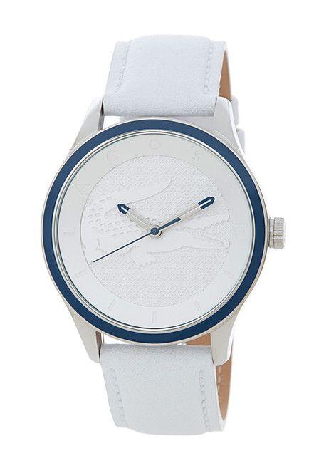 12d6ca92e433 Lacoste Women s Victoria Leather Strap Watch