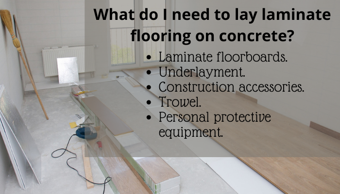 How To Lay Laminate Flooring On, How To Lay Laminate Flooring On Concrete